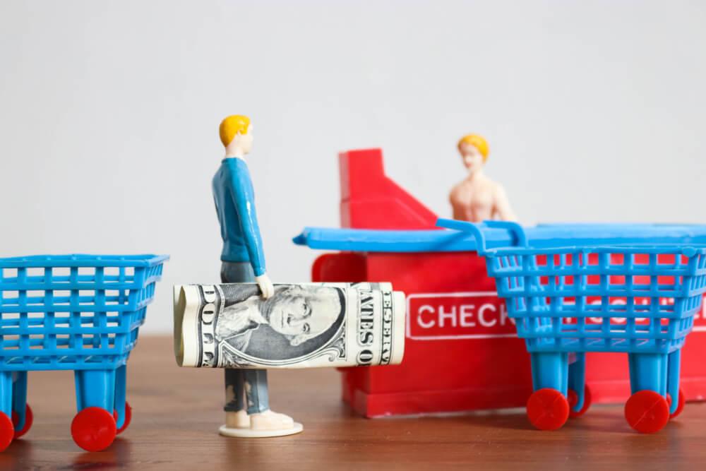 可処分所得は消費性向貯蓄性向に分けられる
