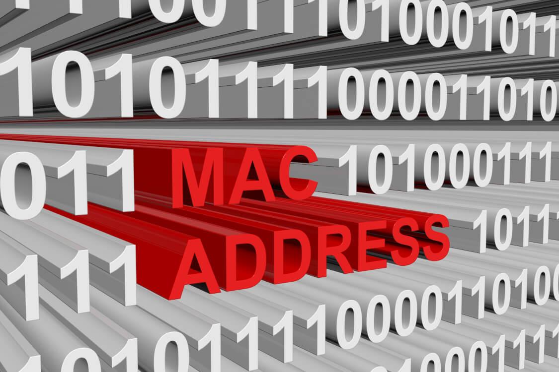 MACアドレスとは、それぞれのネットワーク機器についている番号