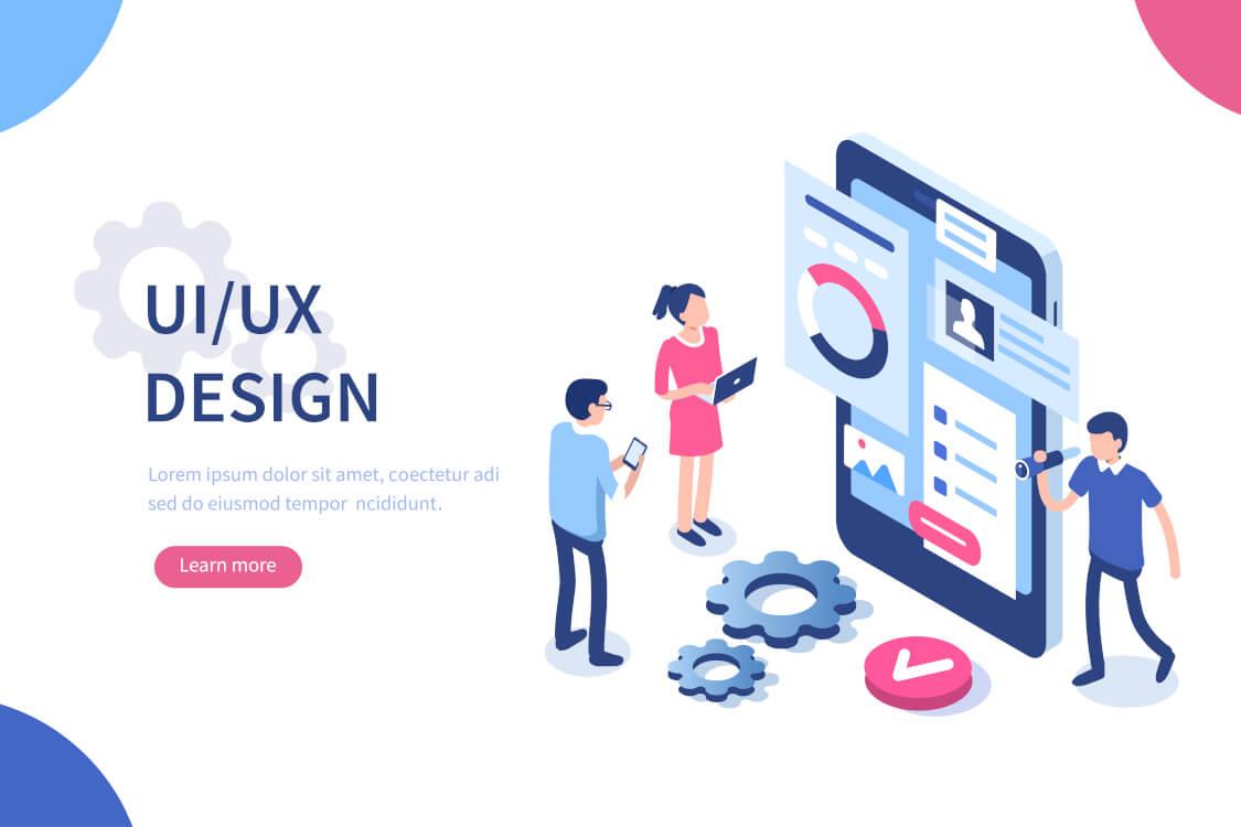 UIデザインを意識したサイト制作