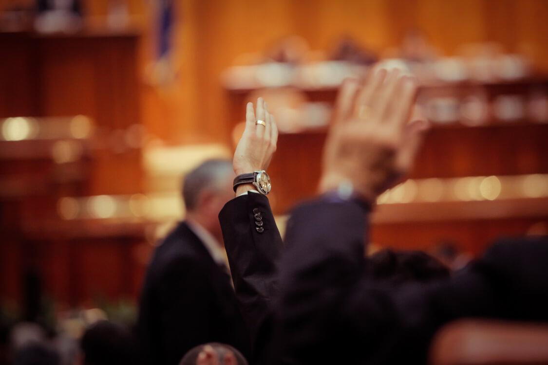 法治国家の礎は議会