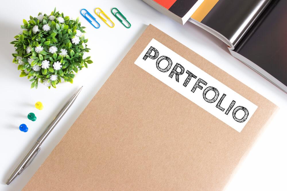 ポートフォリオとは、自分の実績をアピールするための作品集のことだ