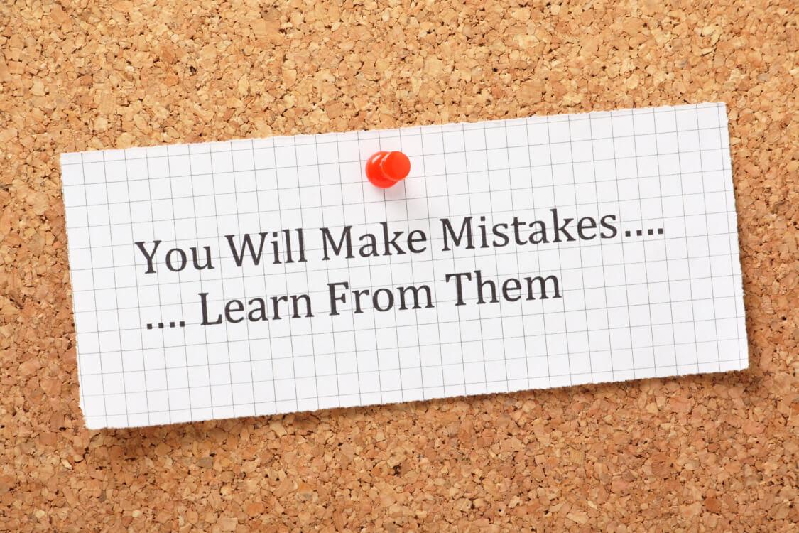 他人の失敗から学ぶ