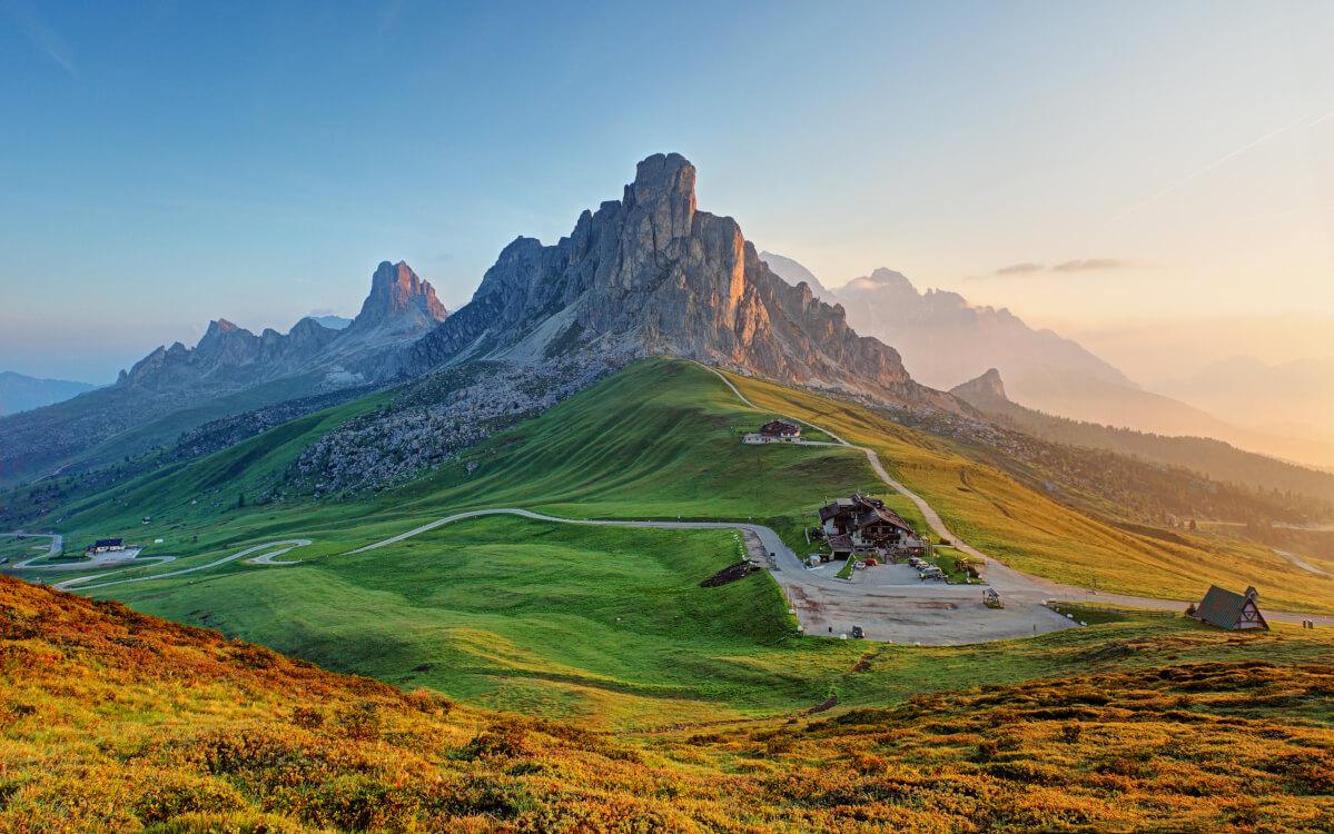 心を癒す為にこの景色を叙景する