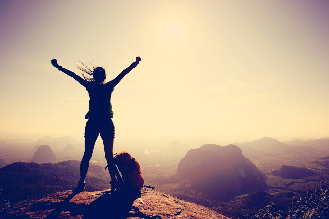 勇往邁進でやり遂げる