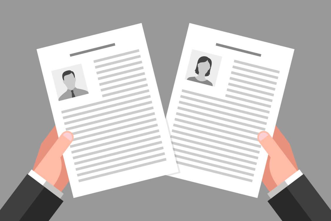 男女雇用機会均等法を基準に採用