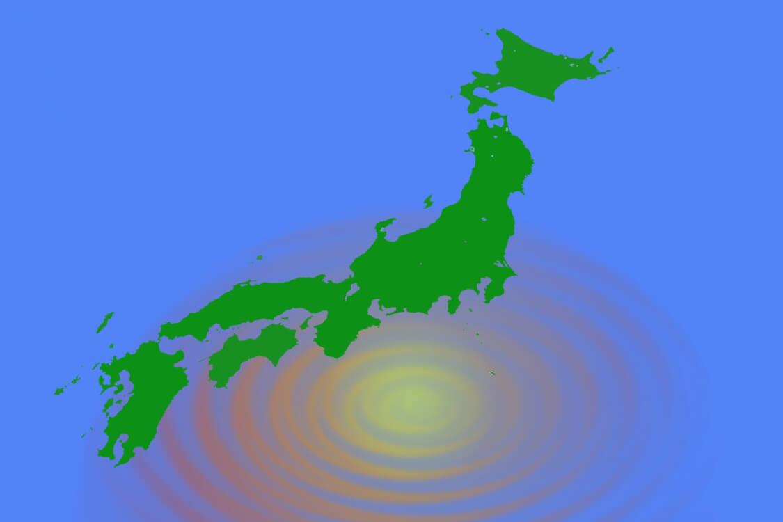 南海トラフは日本の地震に大きな影響がある