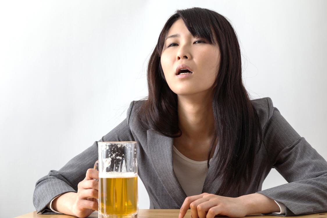 お酒が五臓六腑に染み渡る