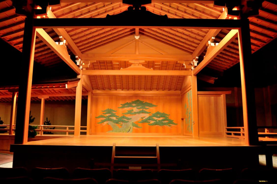檜舞台のイメージ