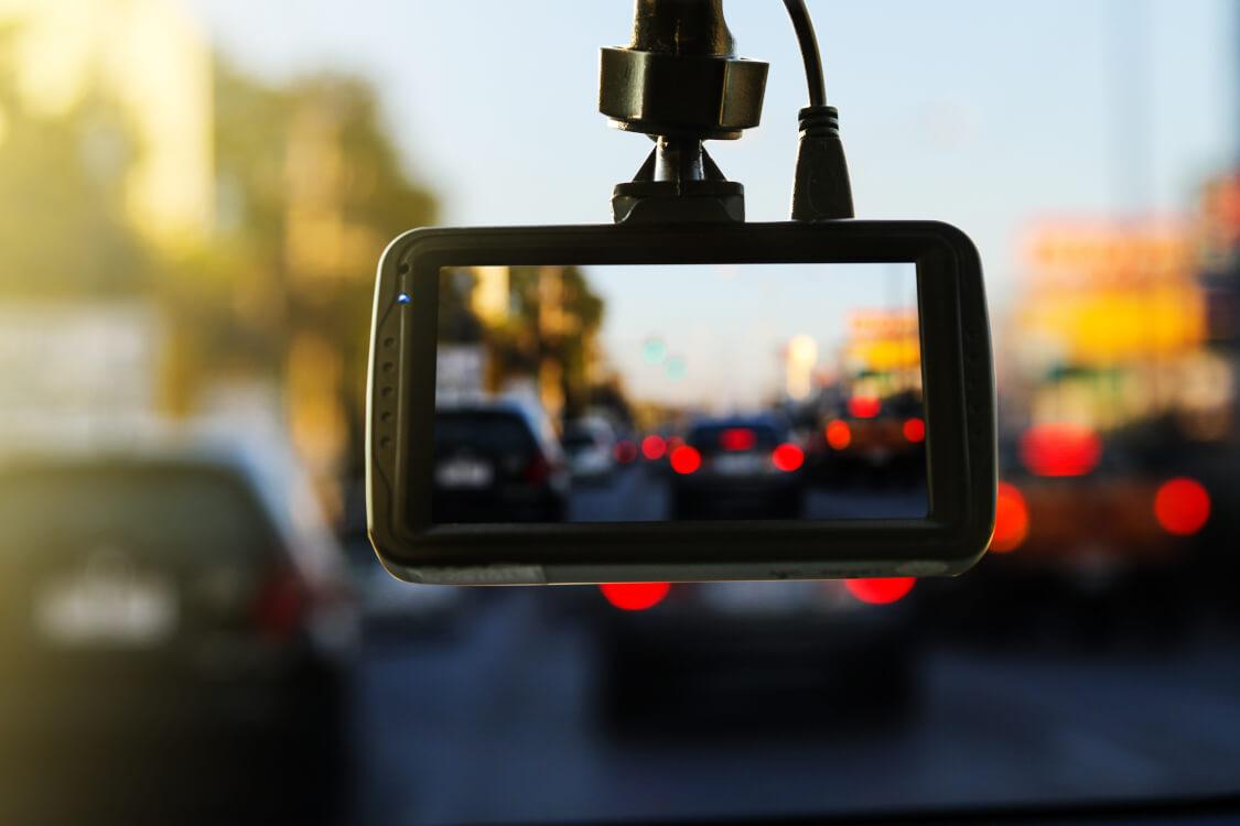 ドライブレコーダーによる映像