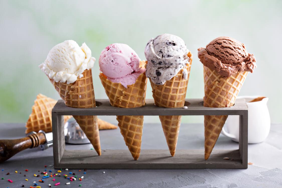 アイスクリームの日にアイスを買う