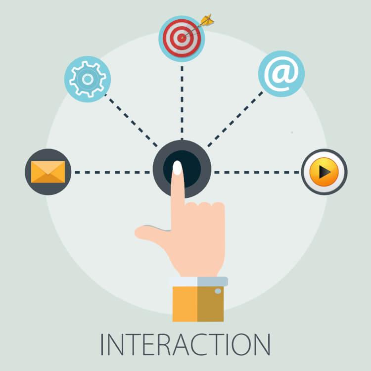 インタラクティブな情報交換