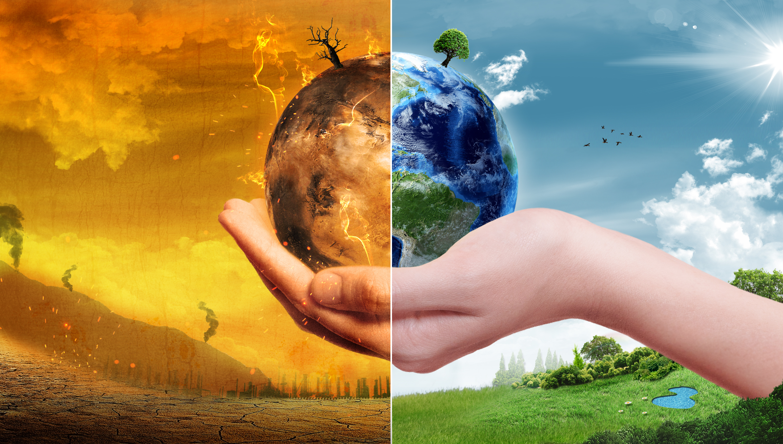 温暖化による未来