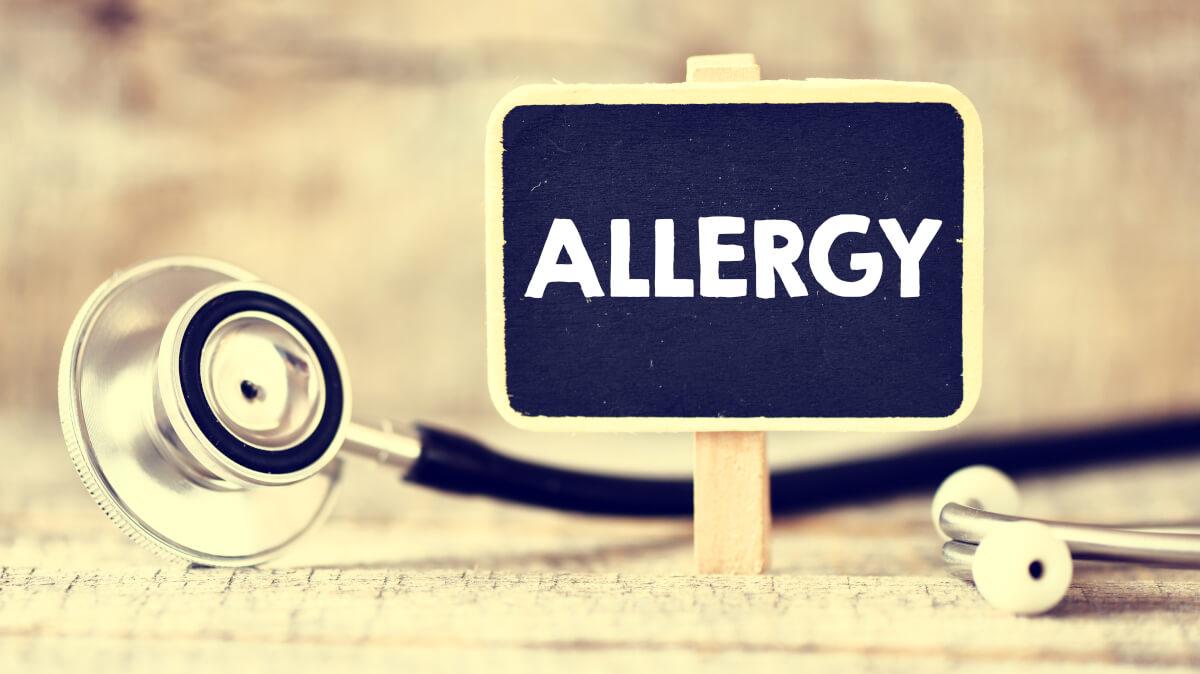 アレルギーの人は大変