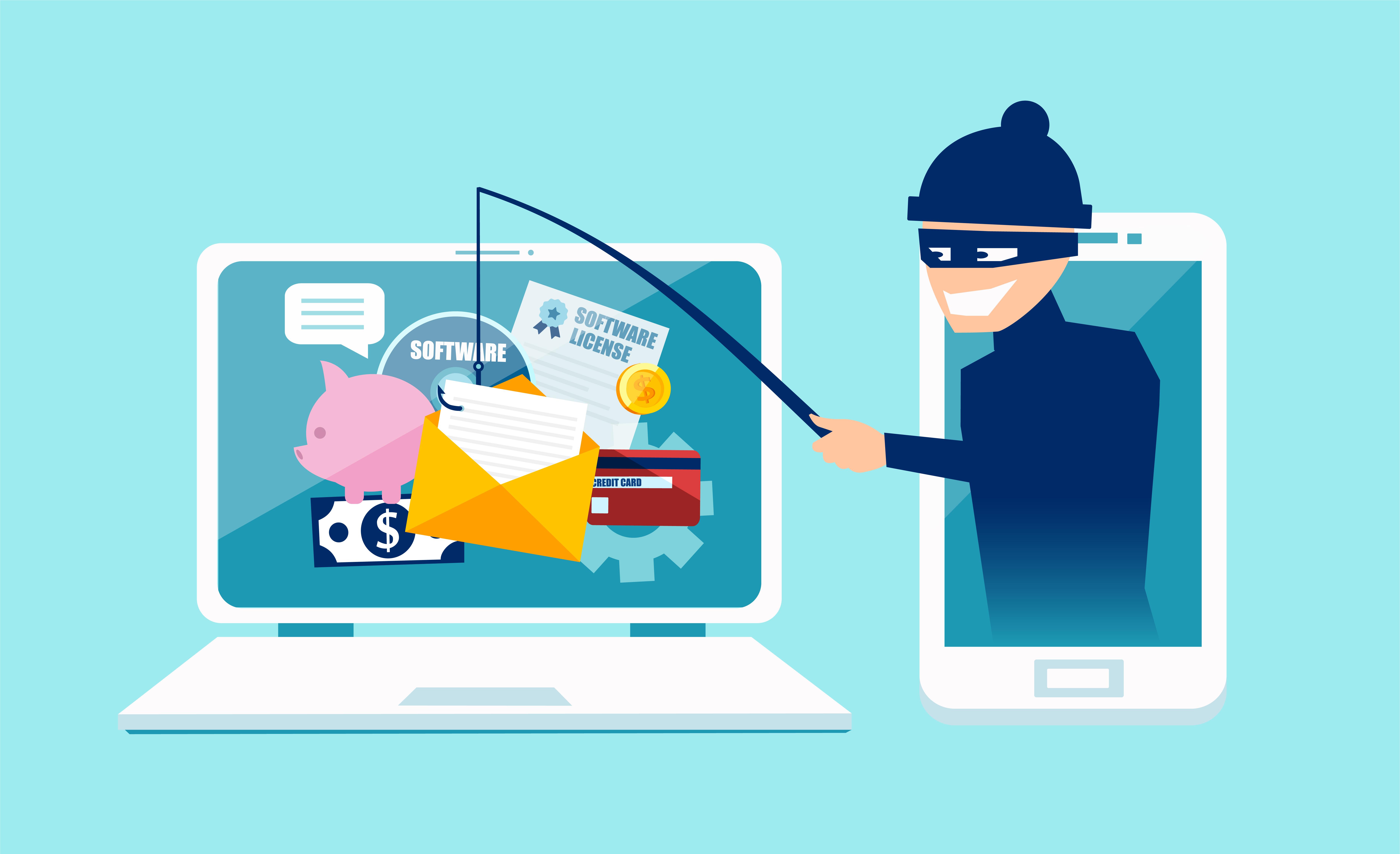 フィッシングとは個人情報を盗む詐欺行為