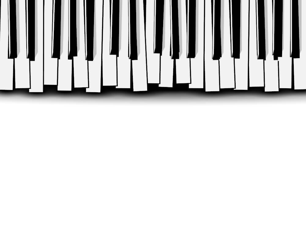 リフレインしている鍵盤