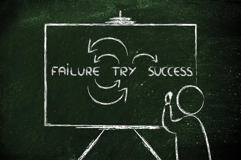 挑戦と失敗を繰り返して成功する