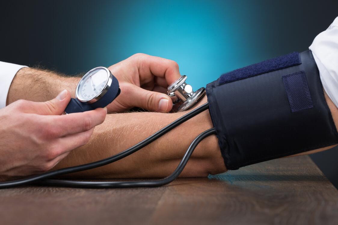 高血圧と診断された
