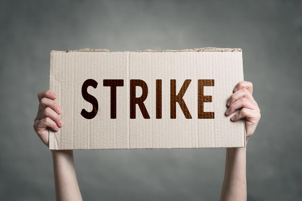 ストライキのボード