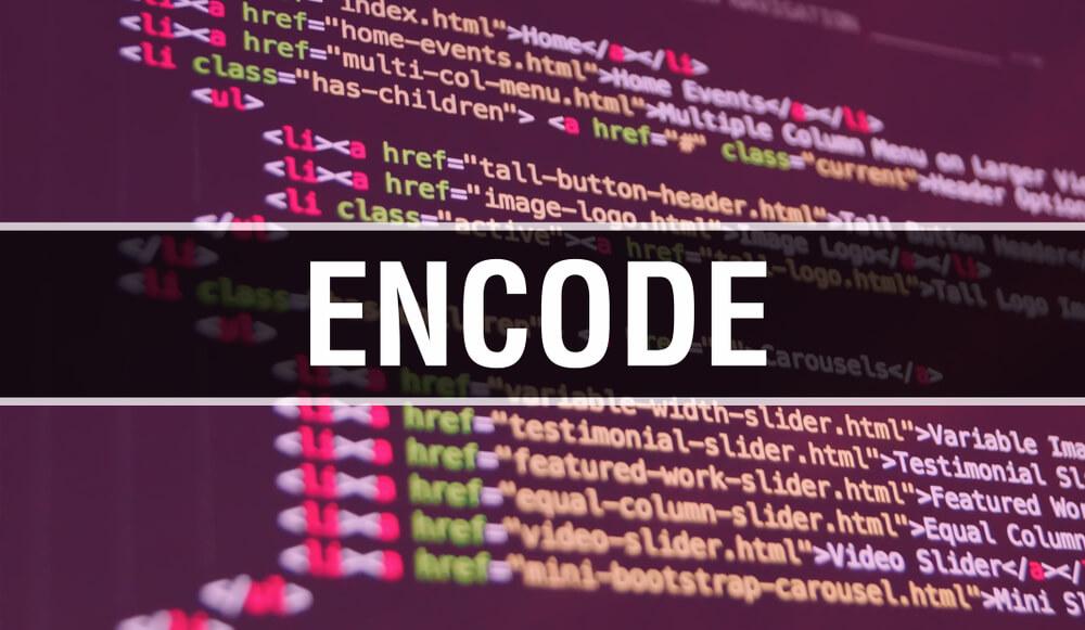 エンコードを書く