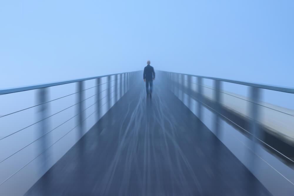雲散霧消の景色に心安らぐ