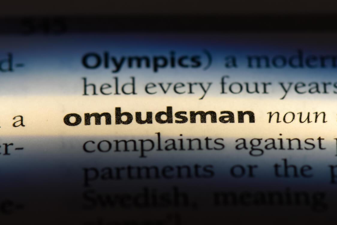 オンブズマンの英辞書