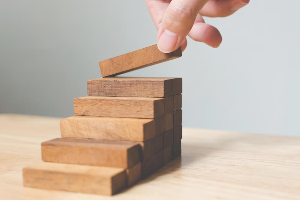 進捗を確認しながら業務を積み上げる