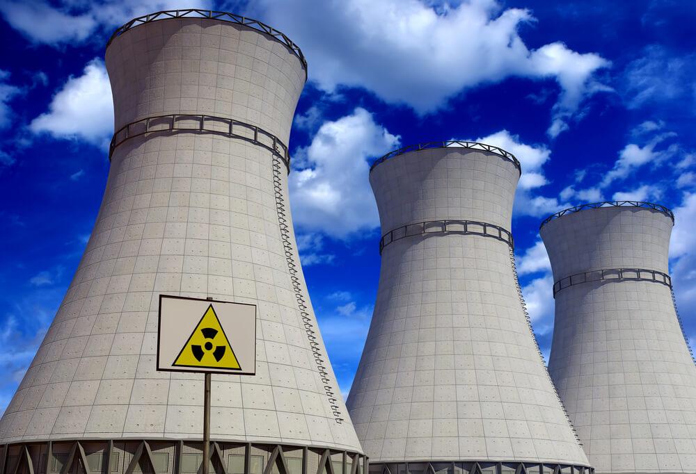 原子力発電所の写真