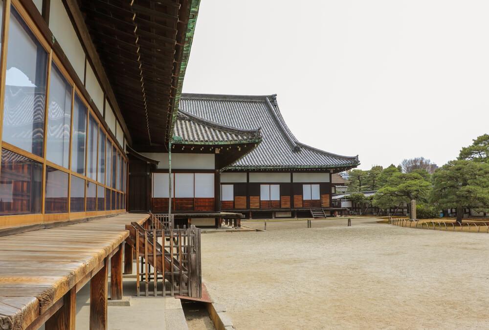 幕府のトップである徳川将軍の拠点の写真