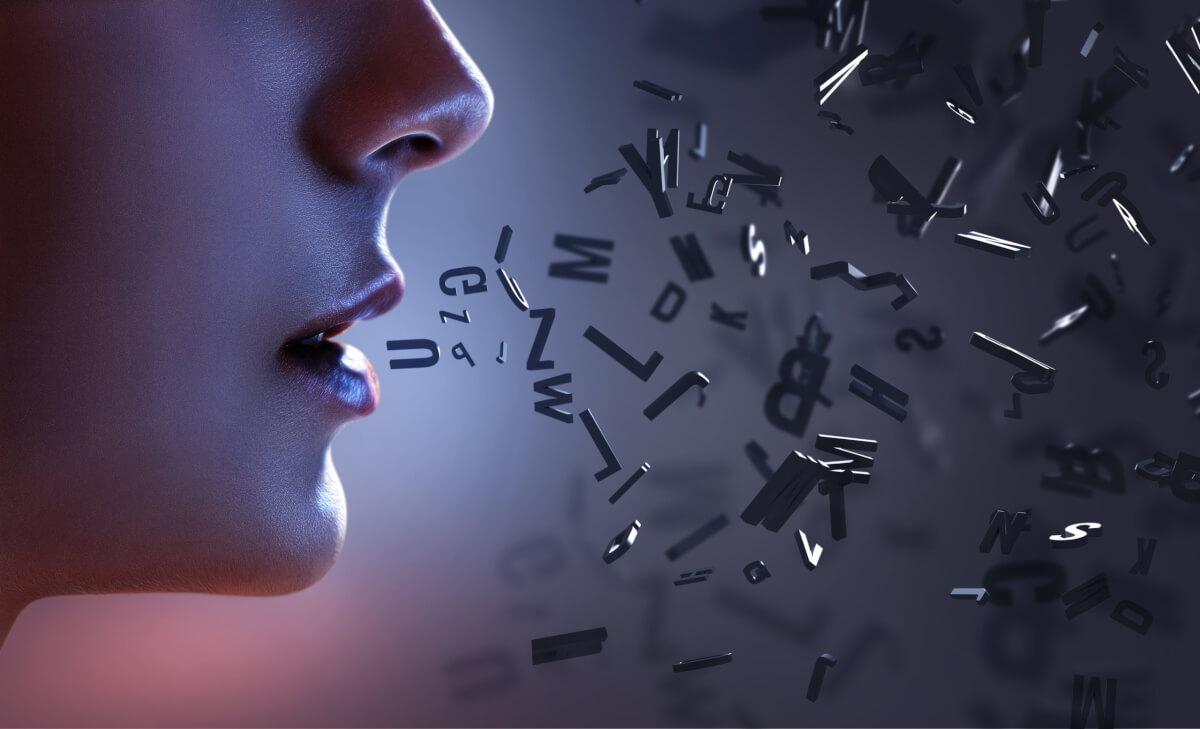吃音症に悩む女性
