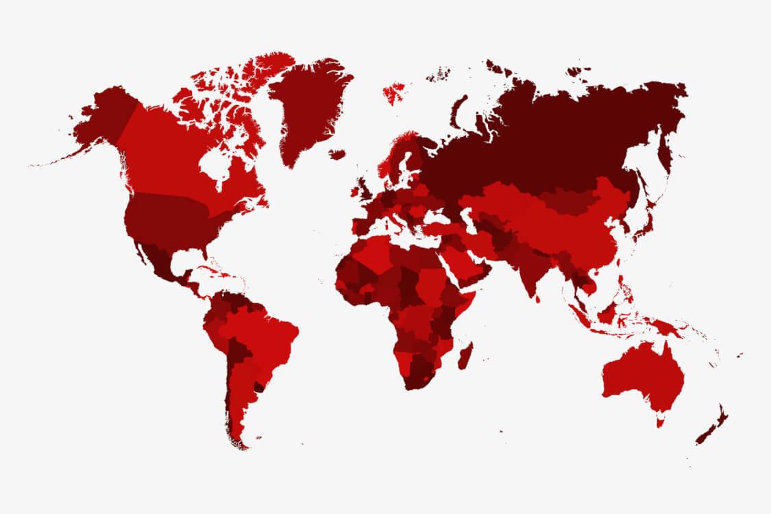 ゾーニングによって分けられた世界