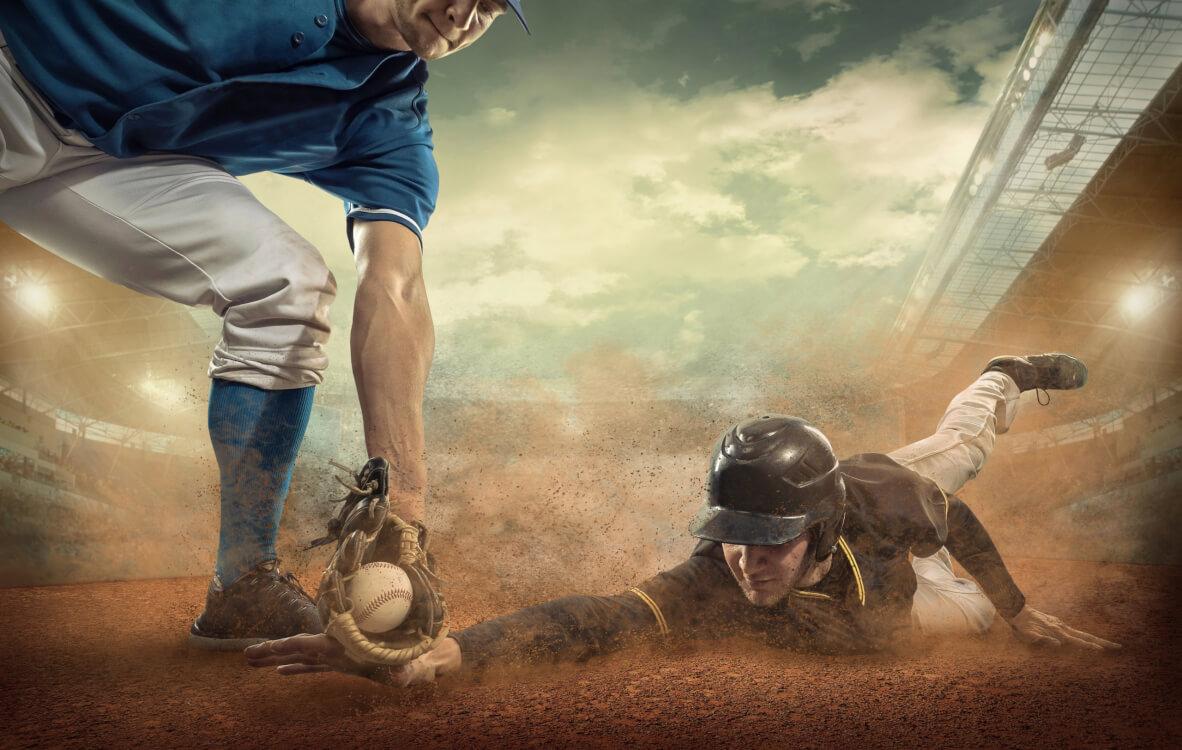 見えない敵によって野球ができない