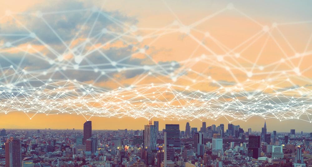 5Gが展開される通信網