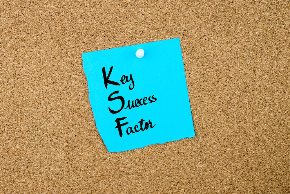 KSFの指標を意識してビジネスをする