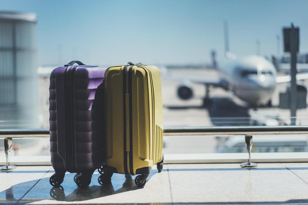 TSAロック付きスーツケース