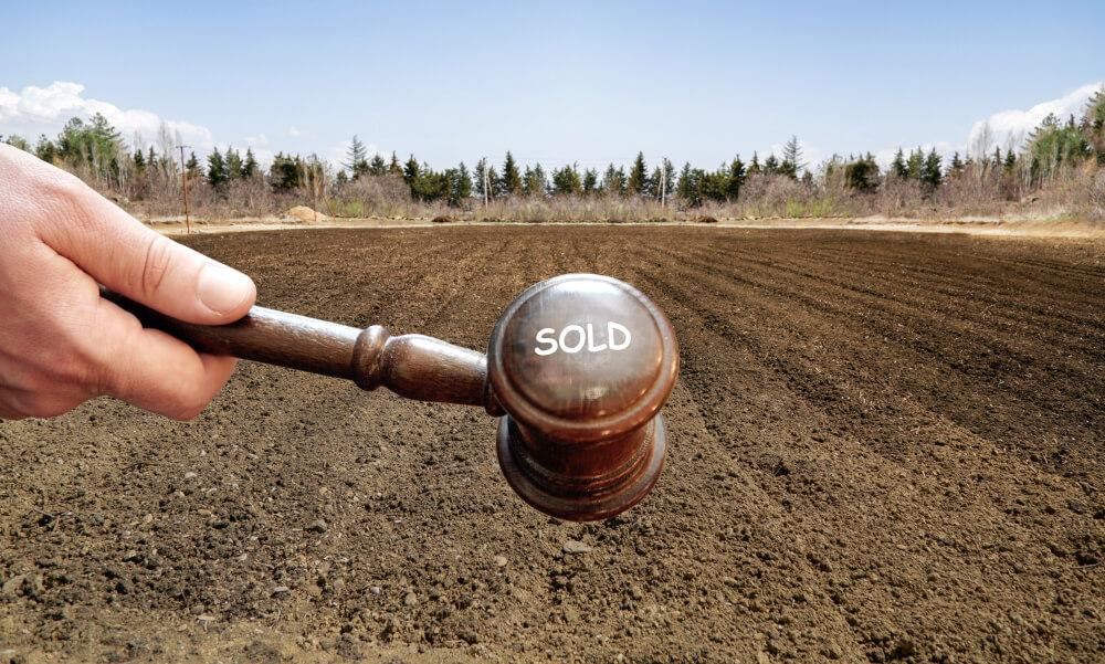 公示地価に基づいて価格算定された土地