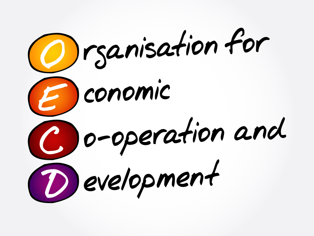 OECDは経済協力開発機構の略称だ