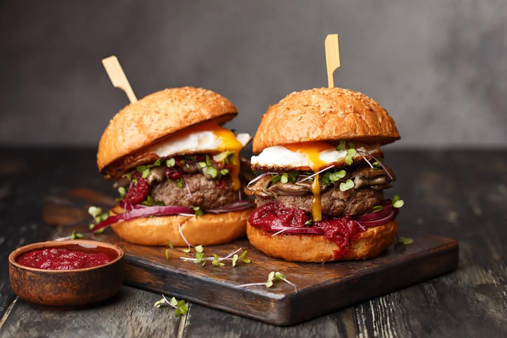 ハンバーガーの画像で飯テロされる