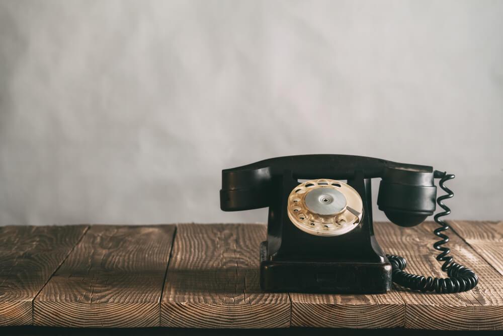 ラガードの人の電話