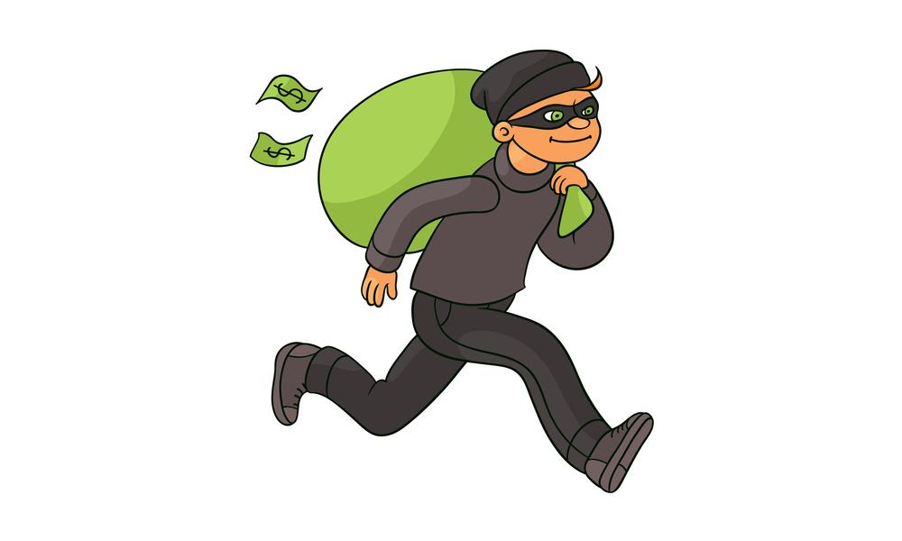 盗人に追い銭のイメージ画像