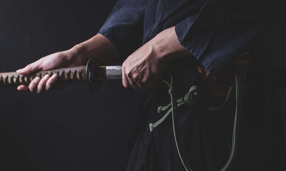 武士道精神を体現した姿勢