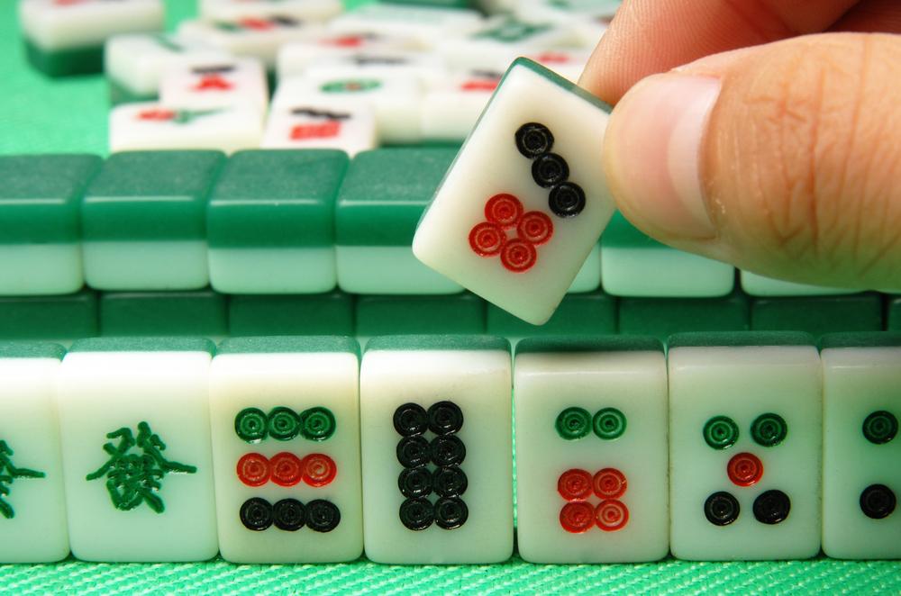 麻雀で上がり牌をツモる