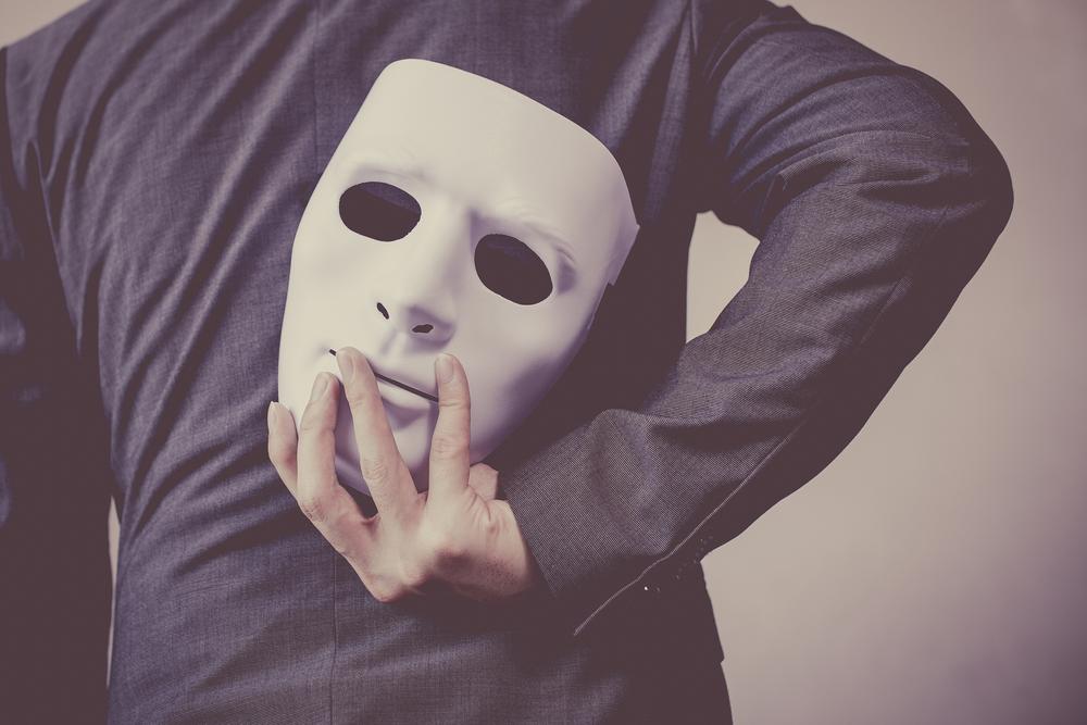 チンコロしたことを隠している男性