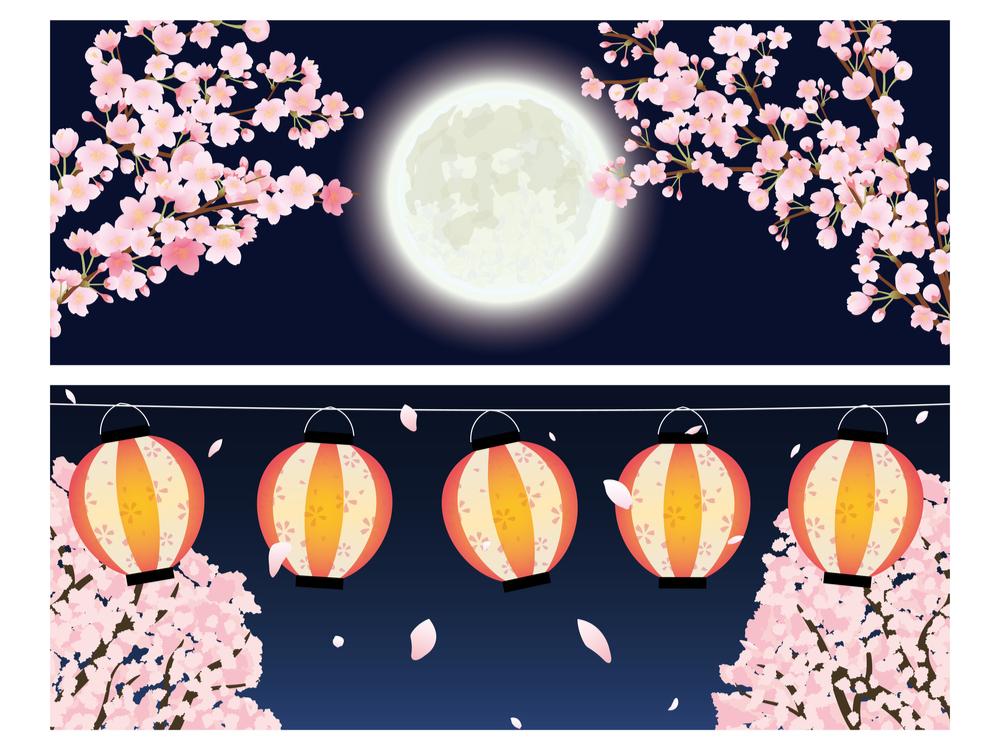 月夜に提灯は光がある夜に提灯は不要という意味