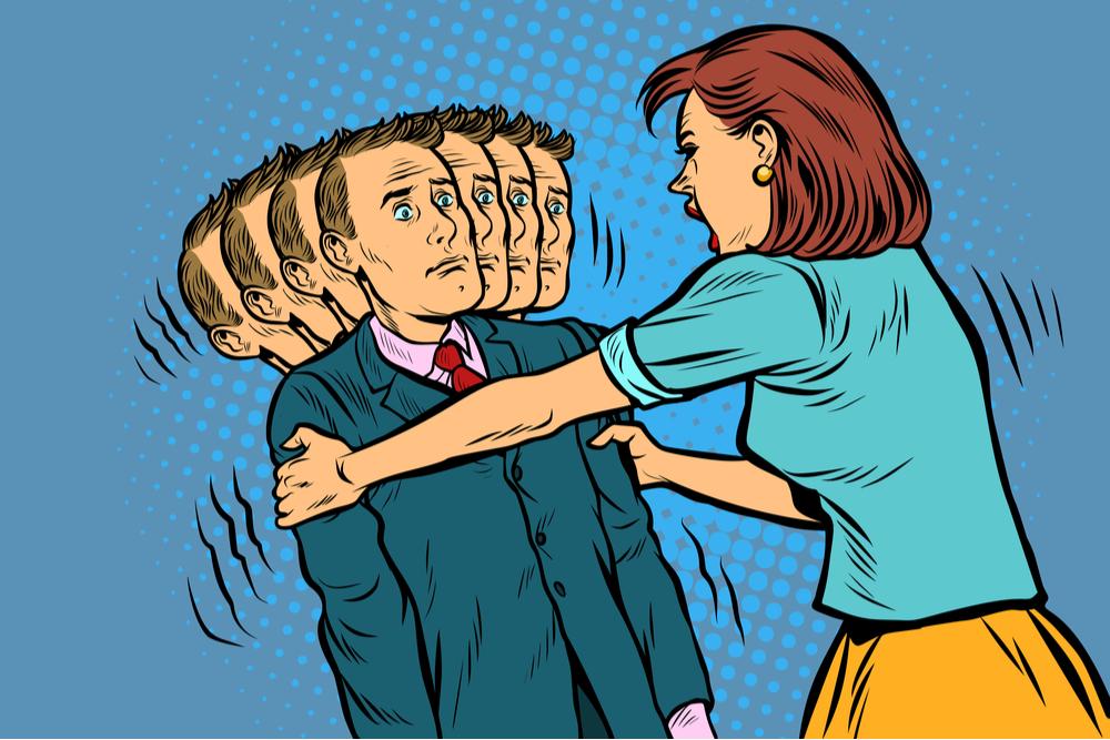 不倫をするなんて言語道断で怒りに任せて攻めたてる妻