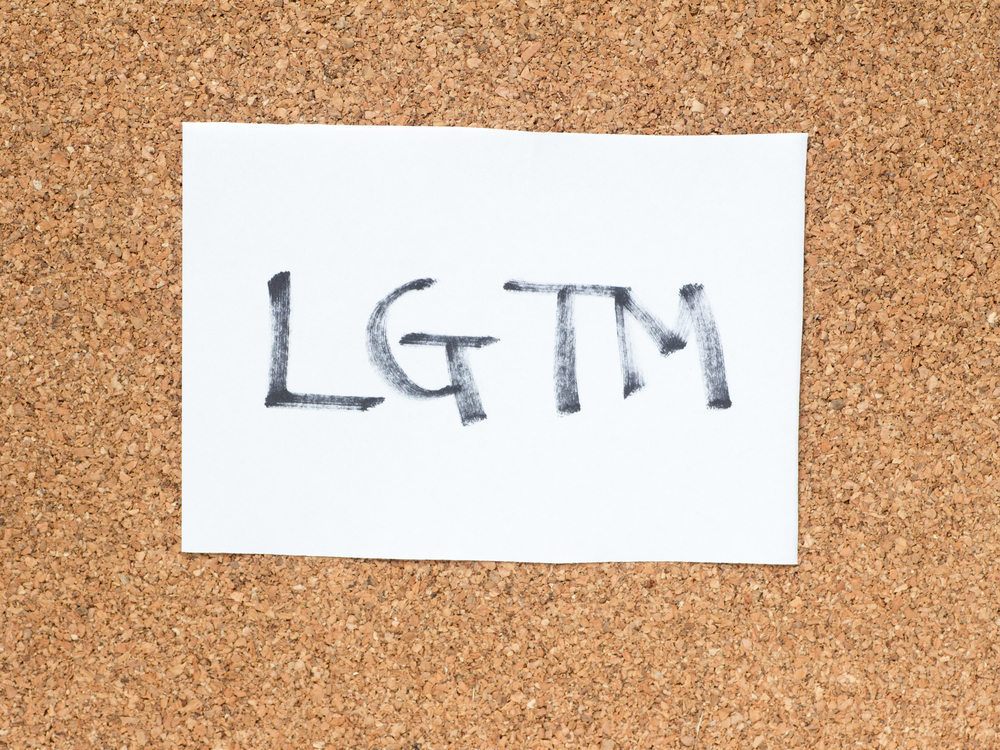 LGTMは英語圏でよくつかわれるスラングだ