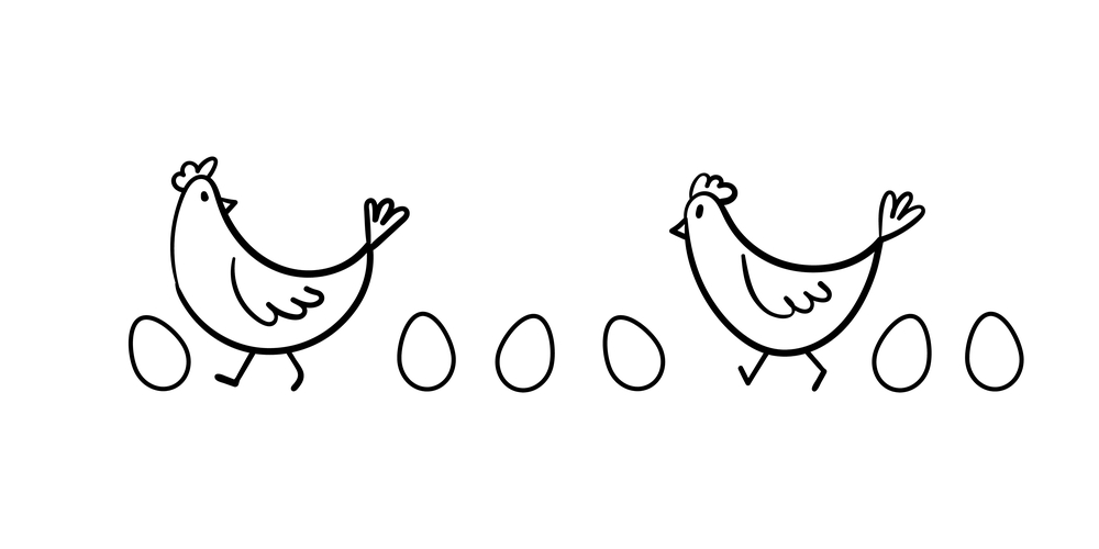 卵が先か鶏が先かはいつの時代にもある論争だ