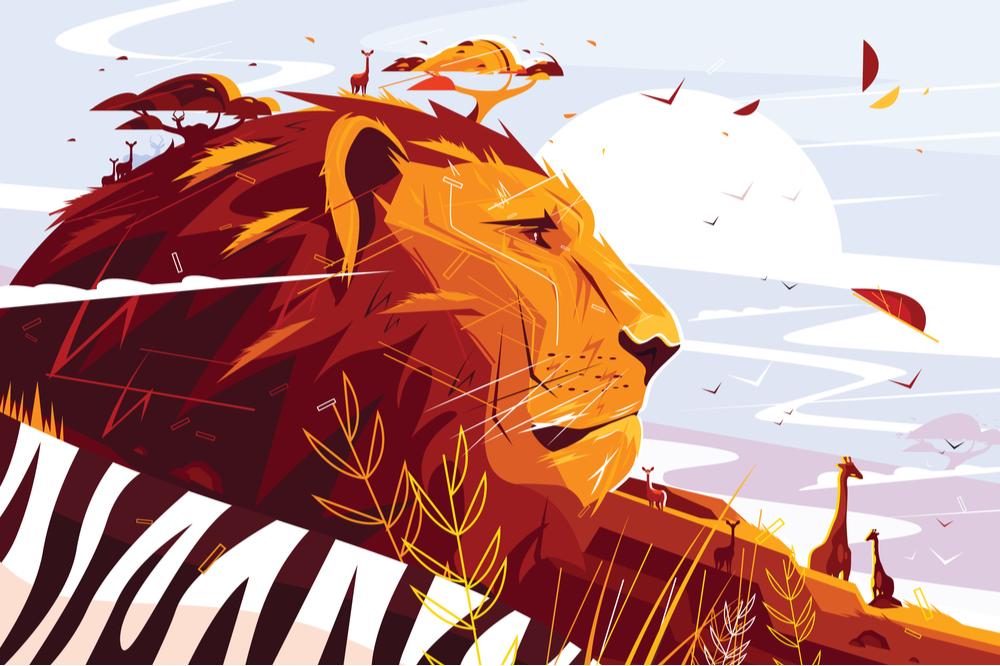 獅子の子落としがありライオンは成長していく
