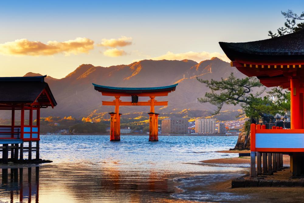 日本三景の美しさは感動する
