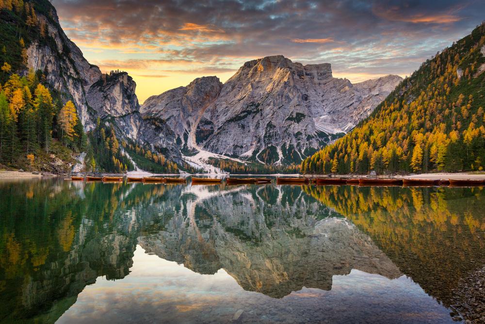 自然の原風景に感動する