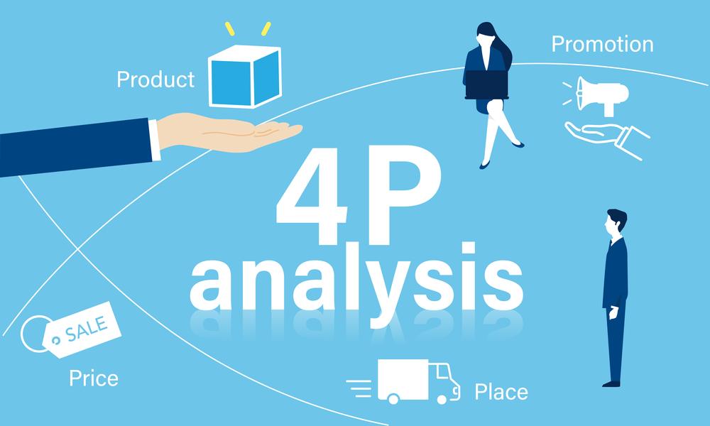 4P分析を可視化。